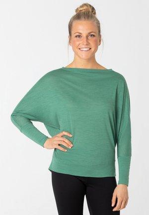 KULA - Long sleeved top - tannengrün
