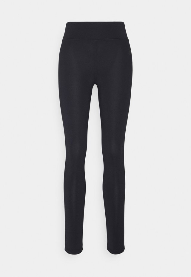 LEGGINGS HIGH WAIST - Punčochy - midnight blue