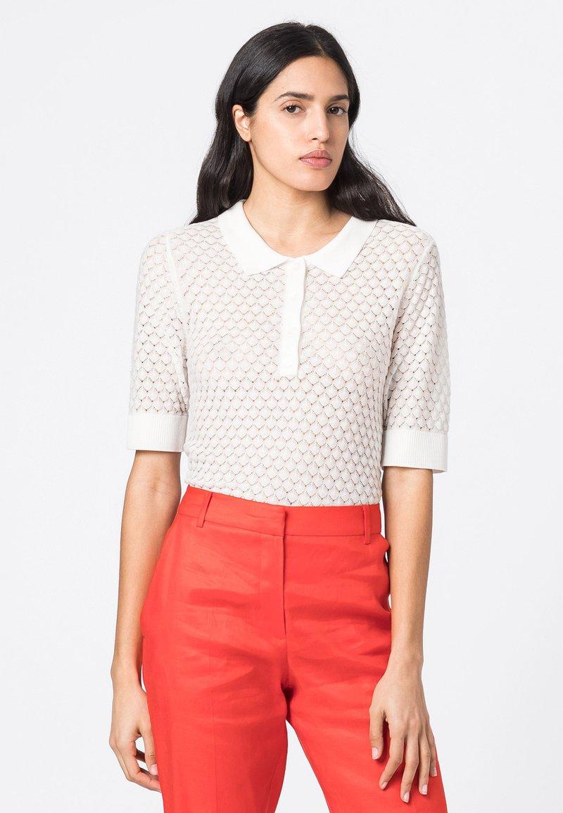 HALLHUBER - Polo shirt - offwhite