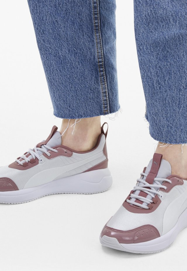 Sneaker low - puma white-puma white
