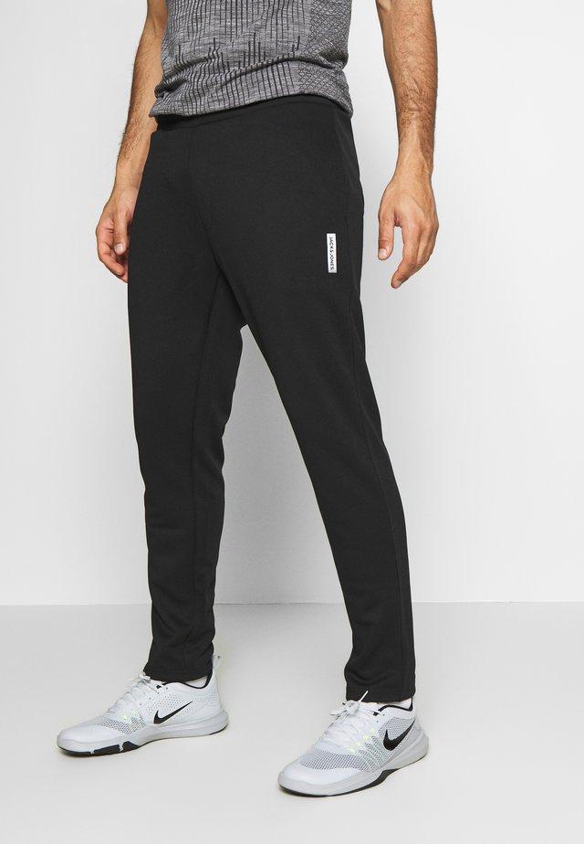 JJIWILL JJZPOLYESTER PANT - Pantaloni sportivi - black