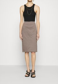 Part Two - TAMIKA - Pencil skirt - brown - 0