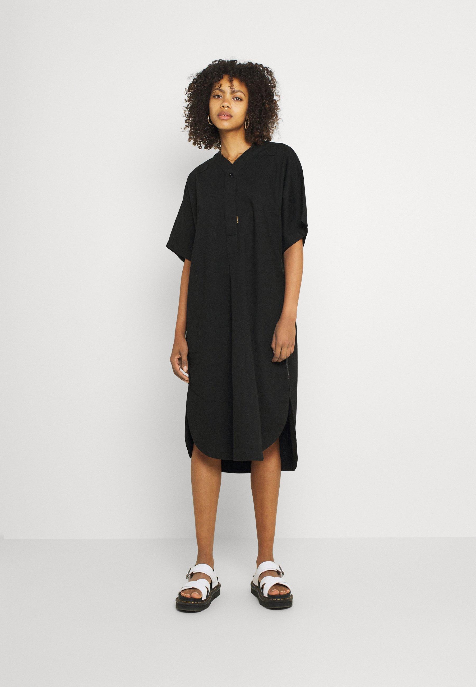 Mujer BASEBALL SCOOP DRESS - Vestido camisero