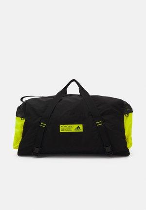 Borsa per lo sport - black/acid yellow