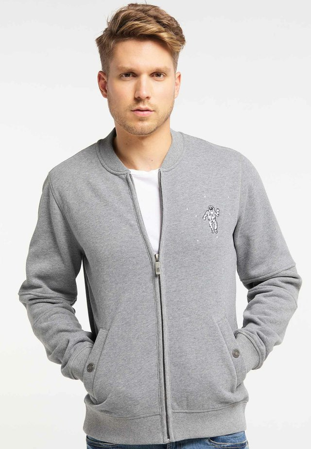 Bluza rozpinana - mottled grey