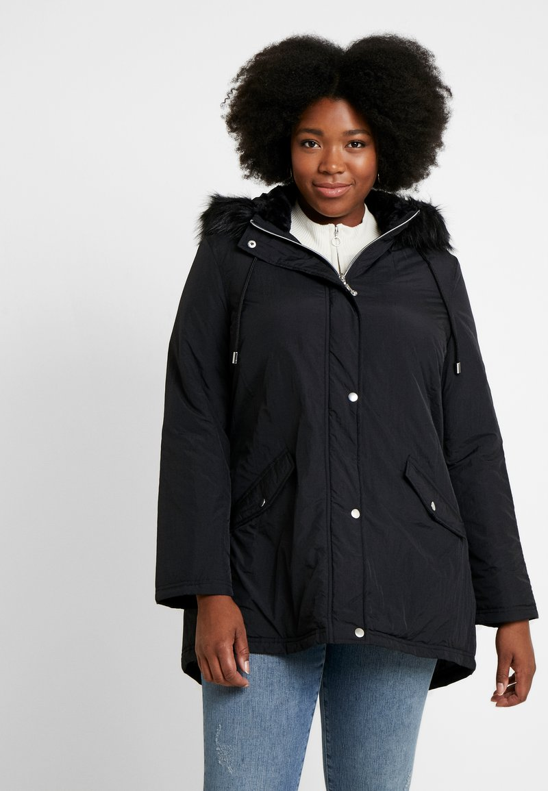CAPSULE by Simply Be - Parka - black