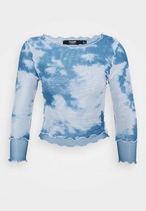 CLOUD - Long sleeved top - blue