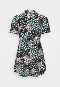 Dorothy Perkins Petite - DITSY PLAYSUIT - Jumpsuit - black - 1