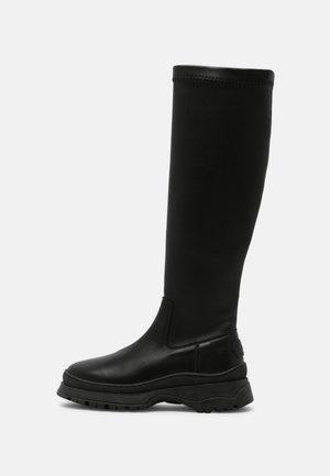 GLAM - Platform boots - black