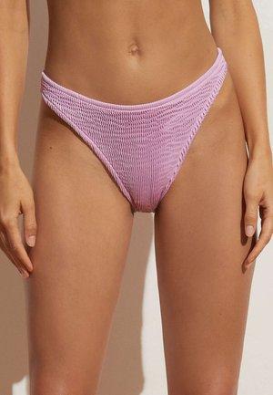 CRINKLED SEAMLESS BRAZILIAN  - Bikini bottoms - mauve