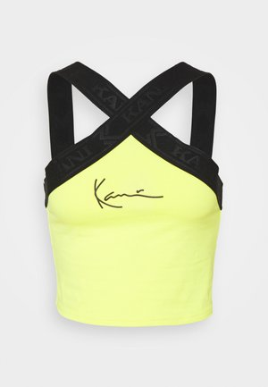 SMALL SIGNATURE TAPE - Top - yellow