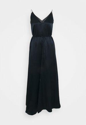 DOUBLE SLIP DRESS - Robe fourreau - navy
