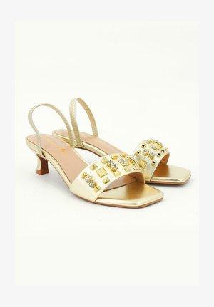 BIANCA - Sandals - gold