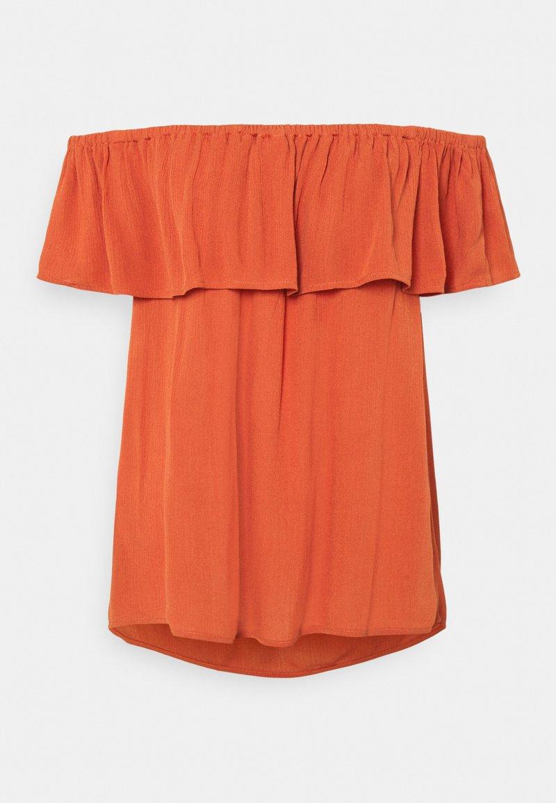 ICHI - IHMARRAKECH - Basic T-shirt - hot sauce