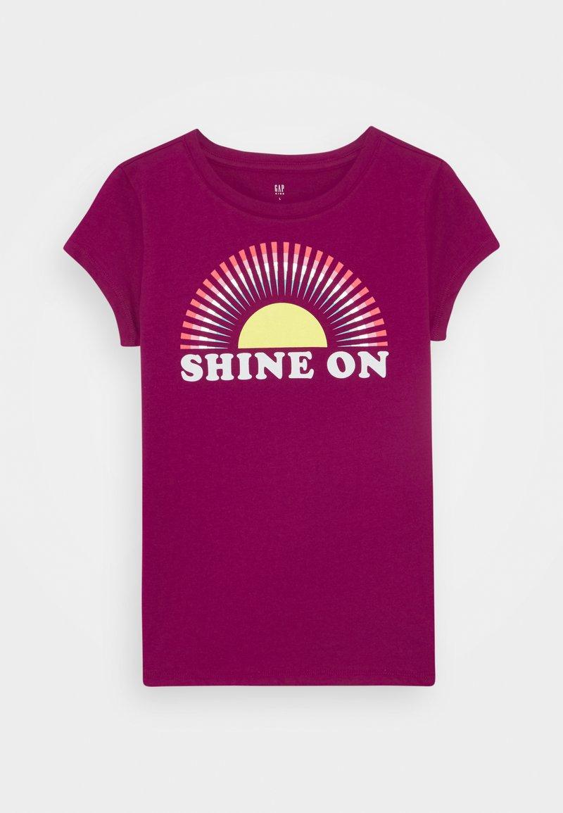 GAP - GIRLS - T-shirt print - orchid blossom
