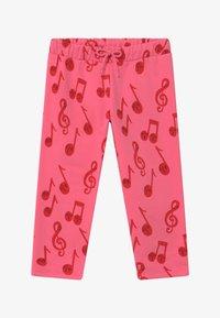 Mini Rodini - NOTES  - Jogginghose - pink - 2