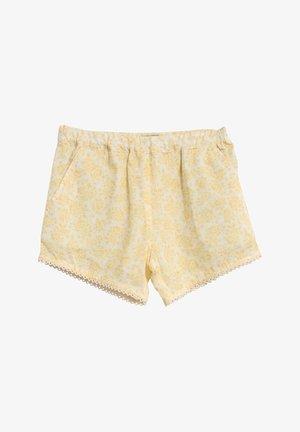 Shorts - lemon flowers