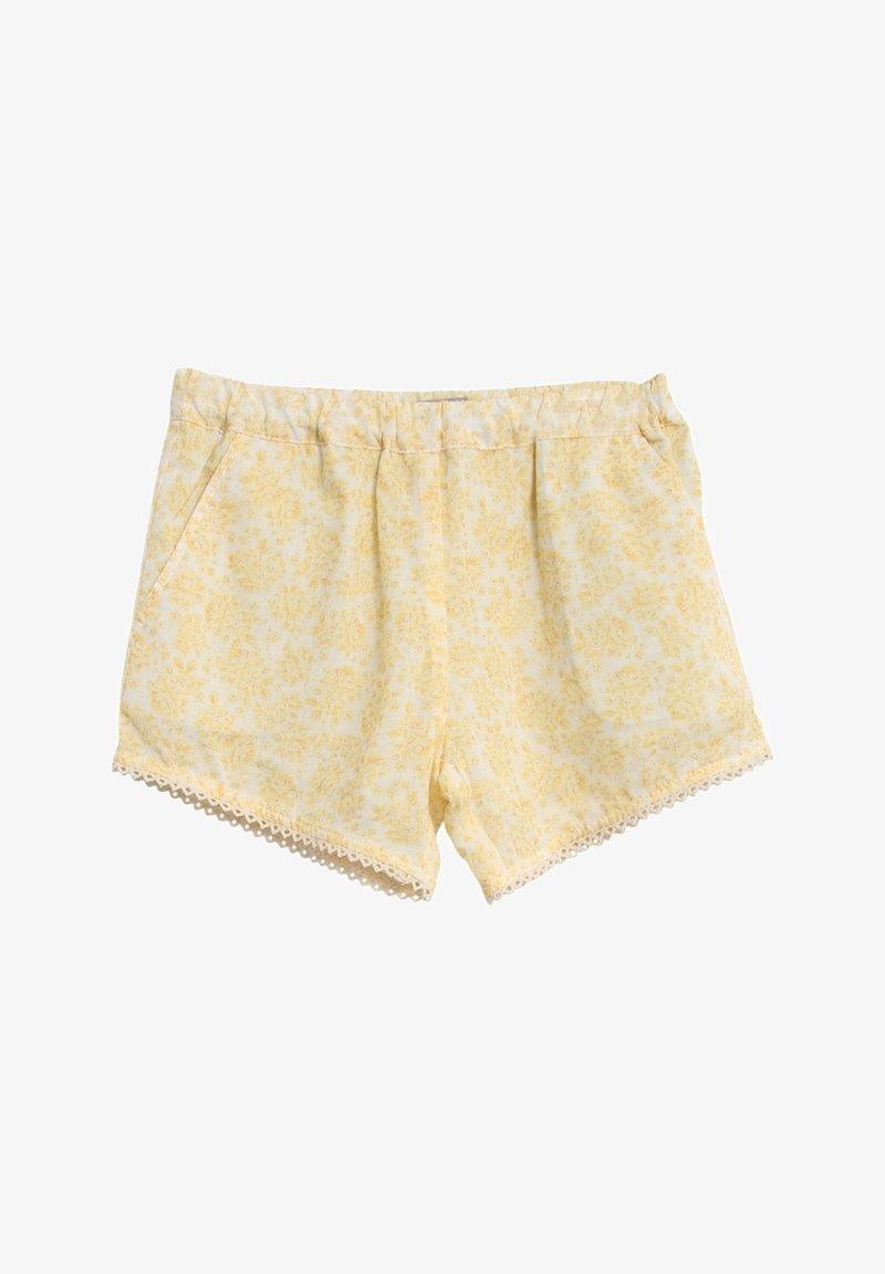 Wheat - Shorts - lemon flowers