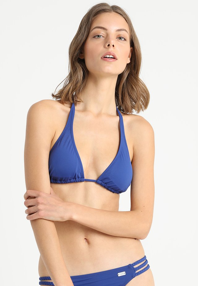 TRIANGLE FRANCE - Bikini top - blue