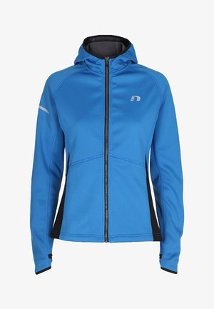 BASE WARM UP - Sports jacket - blue