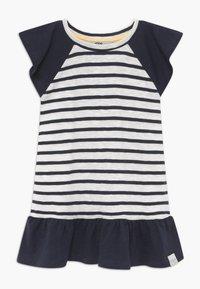 Ebbe - BELLE - Žerzejové šaty - off-white/dark-navy - 0