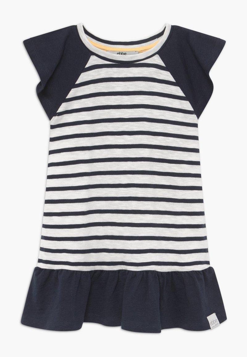 Ebbe - BELLE - Žerzejové šaty - off-white/dark-navy