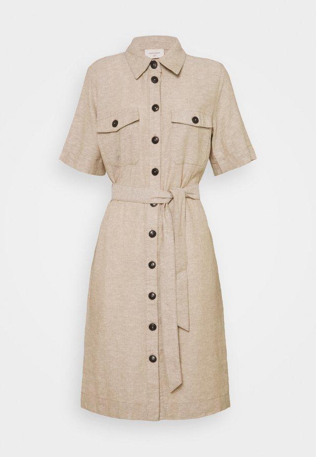 Shirt dress - sand