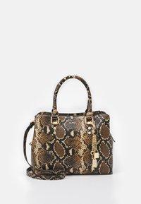 ALDO - SNAKE - Handbag - brown - 0