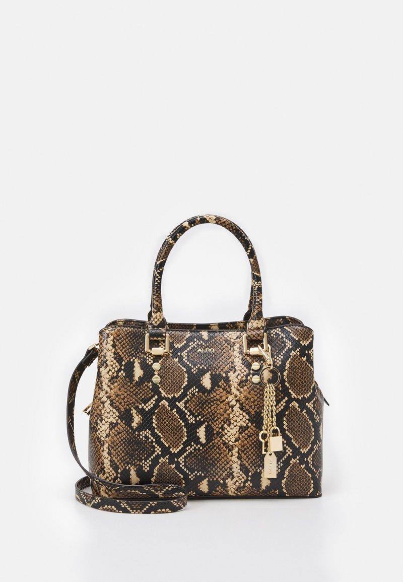ALDO - SNAKE - Handbag - brown