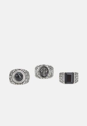 3 PACK - Ring - silver-coloured