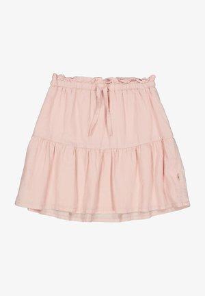 SHANNON - A-line skirt - powder