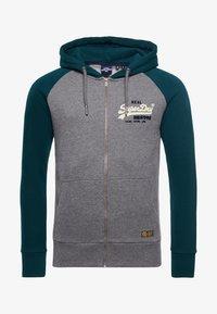 Superdry - Zip-up hoodie - dark grey - 3
