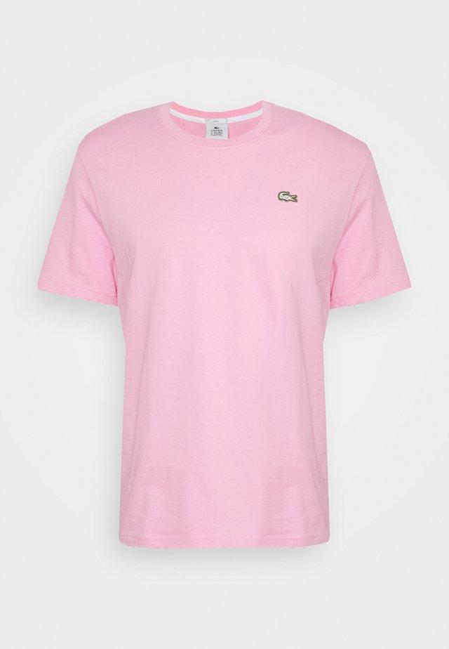 Jednoduché triko - pinkish