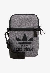 adidas Originals - MEL FEST BAG - Across body bag - black/white - 6