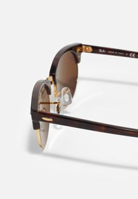 Ray-Ban - CLUBMASTER UNISEX - Sluneční brýle - mottled brown/brown - 3