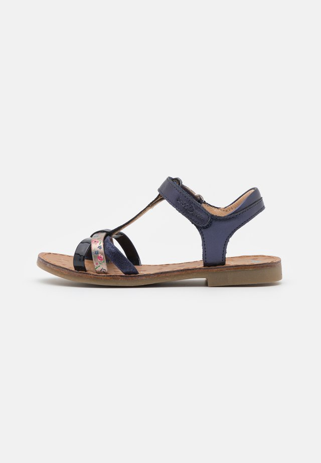 HAPPY SALOME - Sandaler - navy/bronze