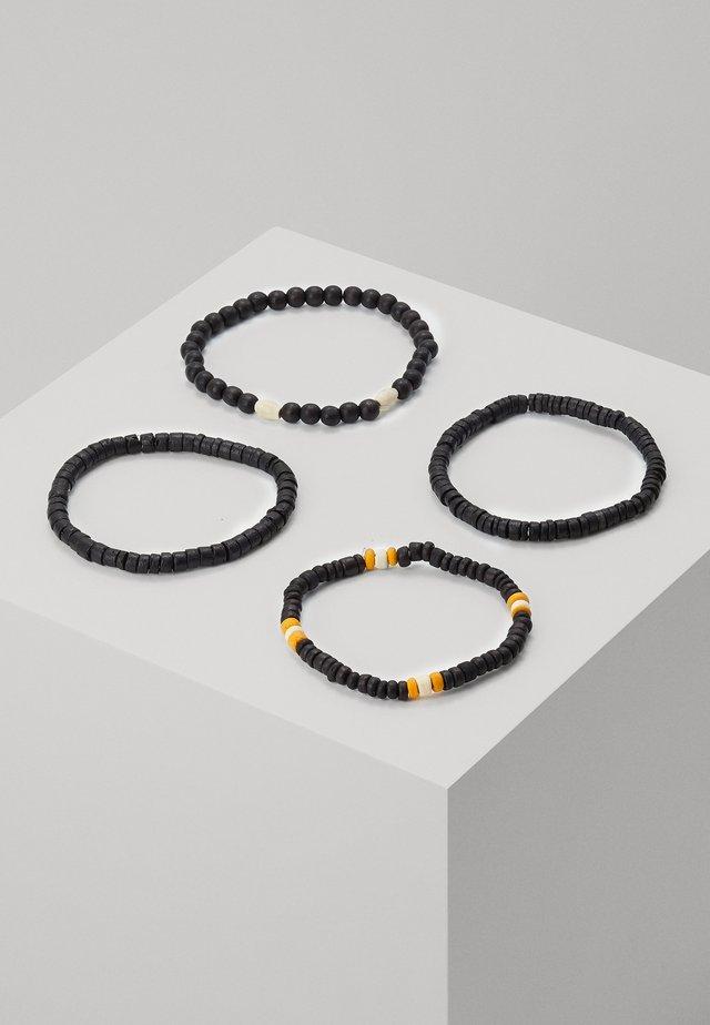 Náramek - black/orange