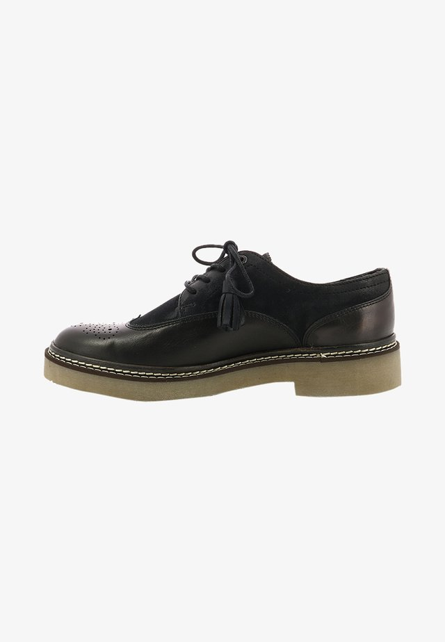 OXANYBY - Lace-ups - noir