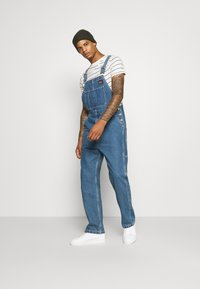 Levi's® - RT OVERALL UNISEX - Dungarees - overall stonewash - 1