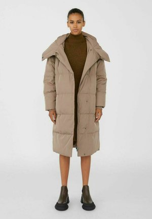 OBJLOUISE  - Down coat - fossil