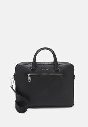 MINIMALISM SLIM LAPTOP BAG - Taška na laptop - black