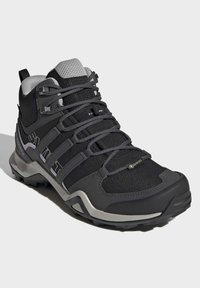 adidas Performance - TERREX SWIFT R2 MID GTX SHOES - Outdoorschoenen - black - 3