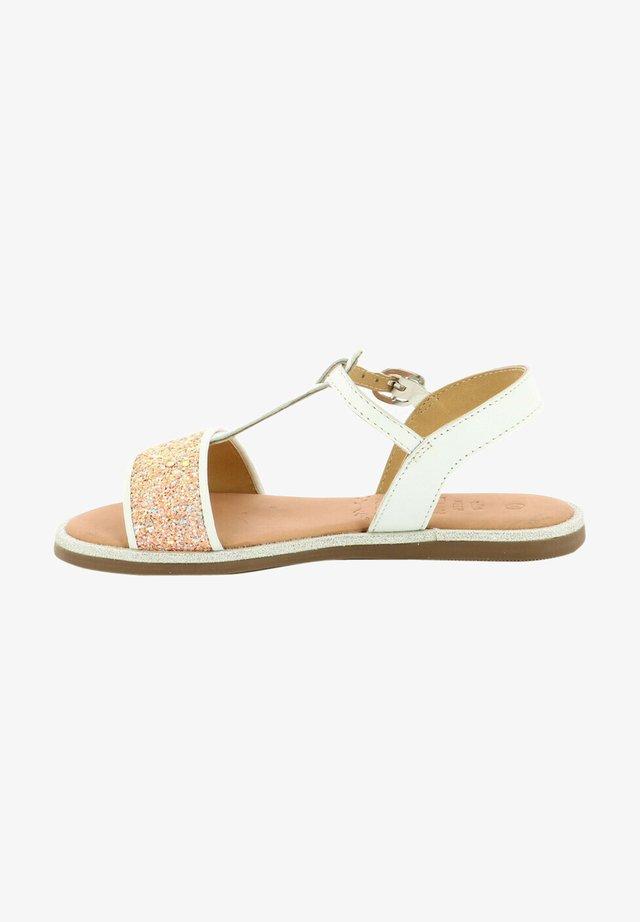 PAILLETTA - Sandals - blanc