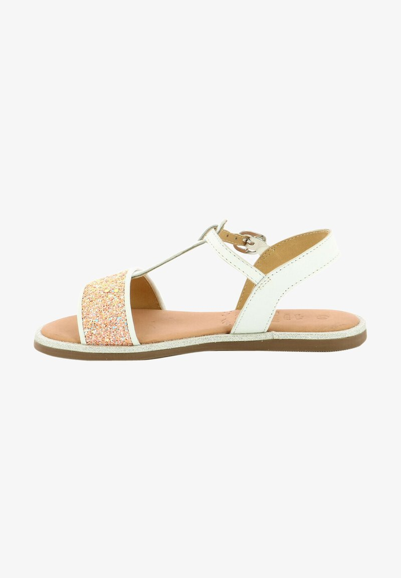Mod8 - PAILLETTA - Sandals - blanc