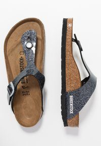 Birkenstock - GIZEH - T-bar sandals - cosmic sparkle anthracite - 3