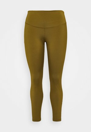 ONE PLUS  - Tights - olive flak/black