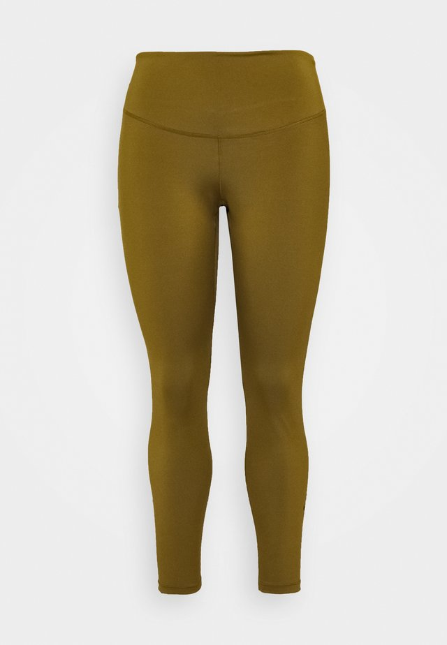 ONE PLUS  - Leggings - olive flak/black