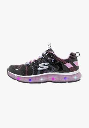 LIGHT SPARKS - Trainers - black sparkle/multicolor