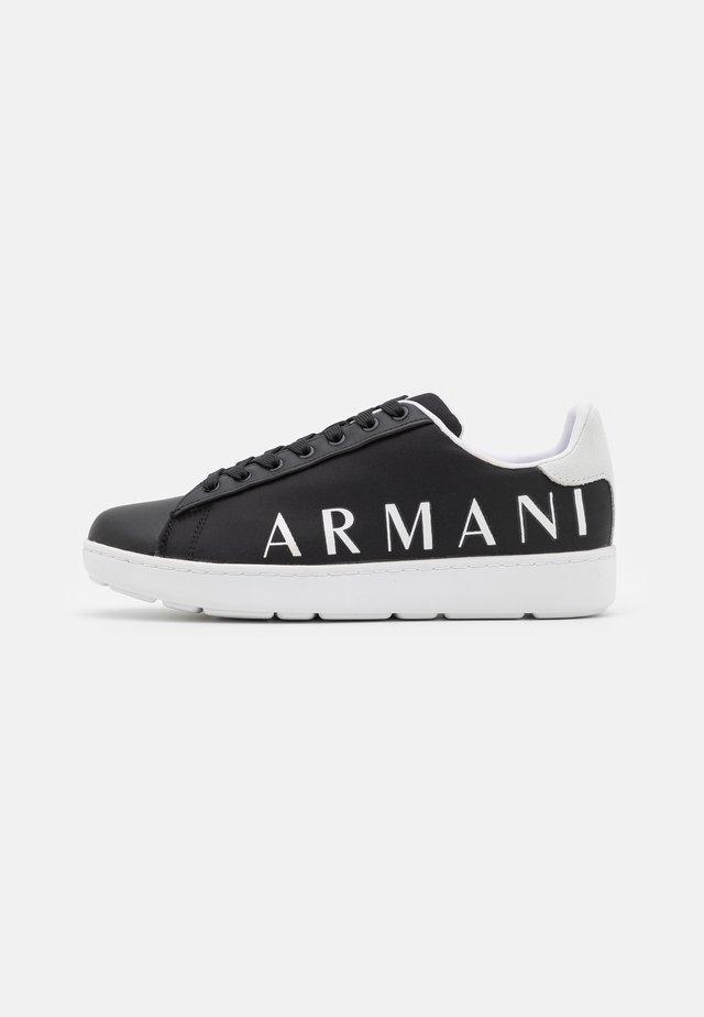 Sneakers laag - black/optic white