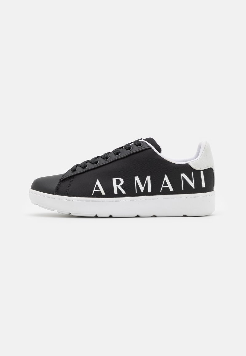 Armani Exchange - Trainers - black/optic white